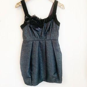 BCBGMAXAZRIA Runway Bubble Skirt Mini Dress